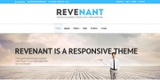 Freebie: Revenant Template Home Page (PSD)