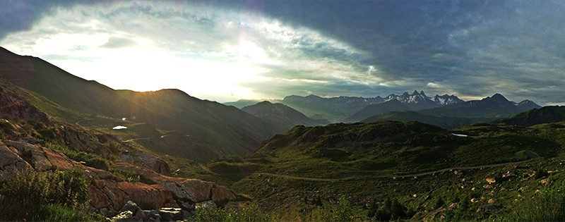 Facebook Timeline Photo: Panorama from the Col Croix de Fer