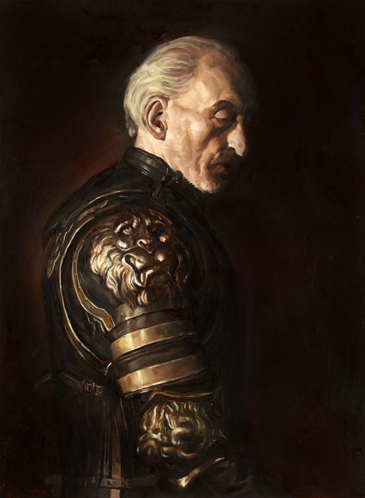Oil Painting of Tywin Lannister