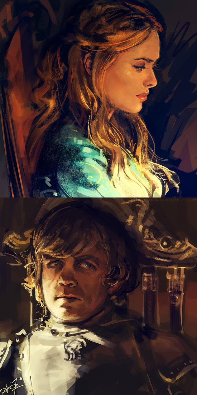 Cersei and Tyrion by `alicexz on deviantART