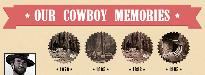 Dirty Saloon Facebook Timeline Cover Template (PSD)