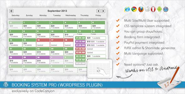 Calendar Booking System Free : Best calendar wordpress plugins vol premiumcoding