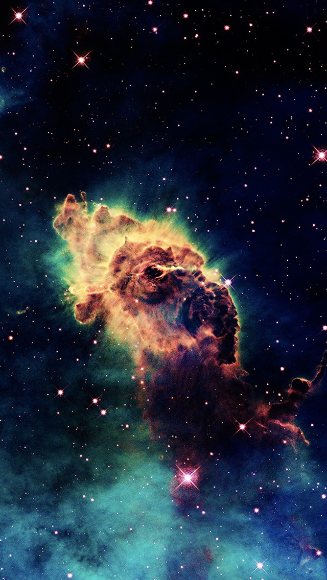colorful nebula iphone wallpaper - photo #10