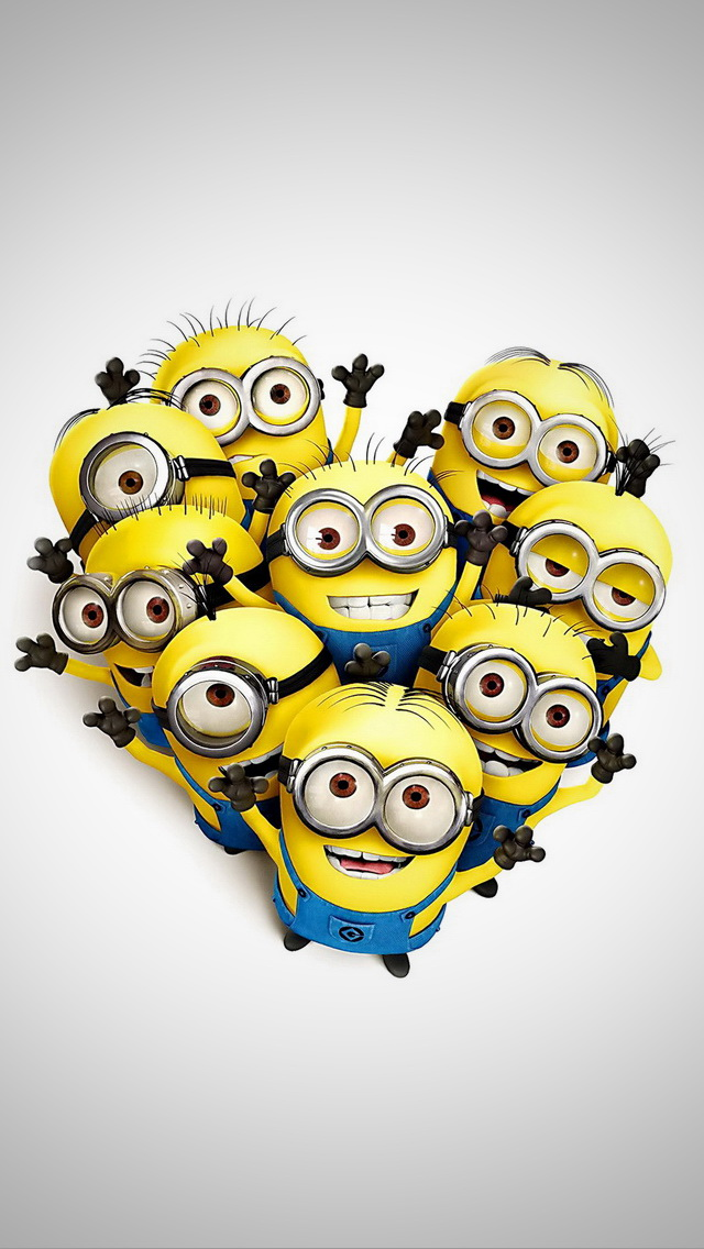 Minions Love Wallpaper For Iphone : Modern free iPhone Wallpapers - Premiumcoding