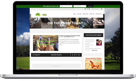 Atticus Blog Theme User Example