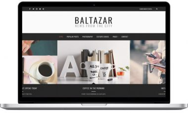 Baltazar – A WordPress Blog Theme