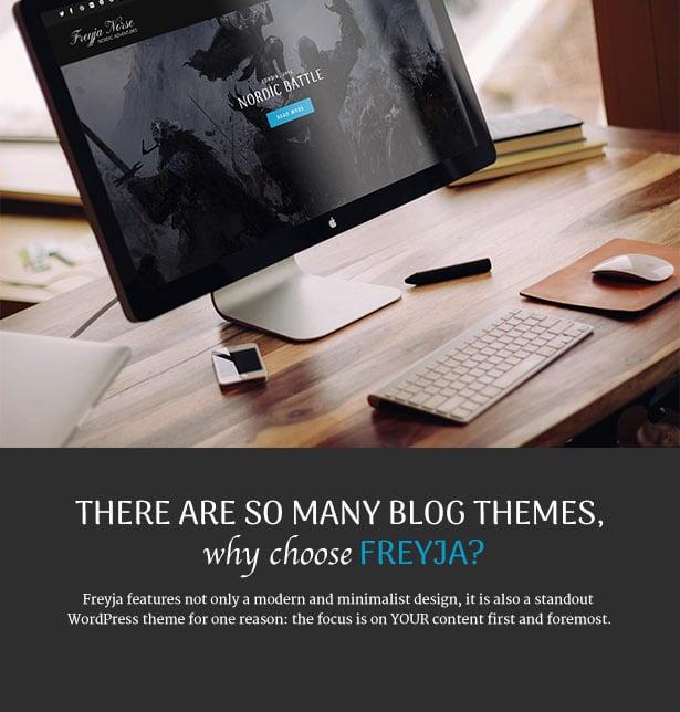 WordPress theme Freyja - Personal WordPress Blog Theme (Personal)