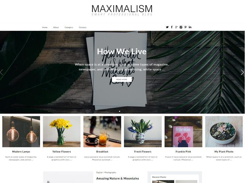 maximalism theme