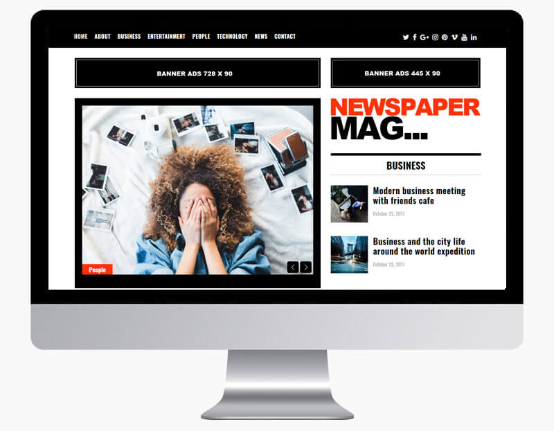 newspaper mag wp theme