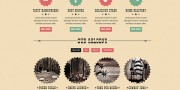 Freebie: Dirty Saloon Cowboy Template (PSD)