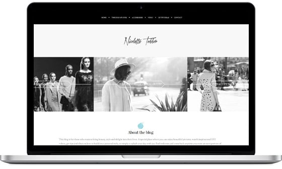 Scribbo WordPress Theme Customer Example