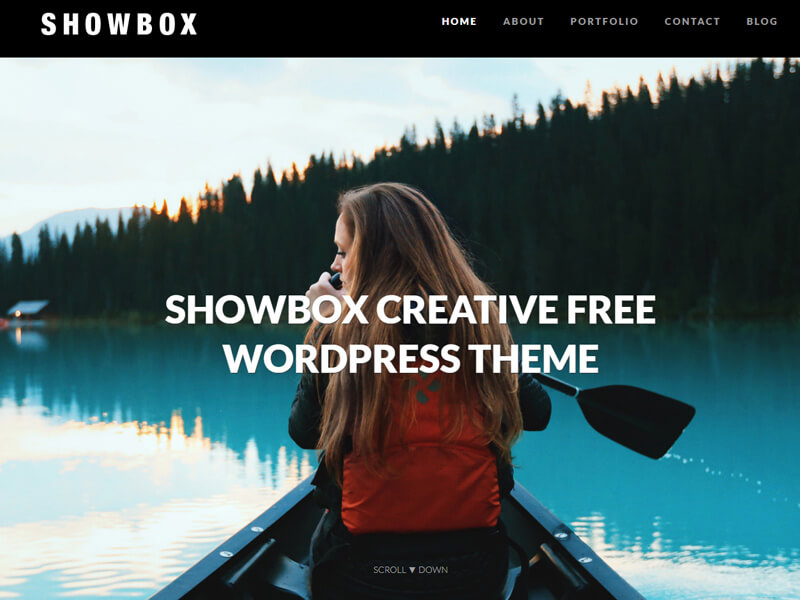 showbox free photography theme