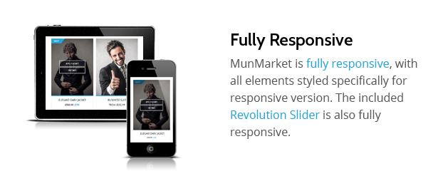 Munmarket - A One and Multi Page Ecommerce Theme - 3