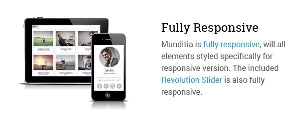 Mundus - A Business One Page WordPress Theme - 3