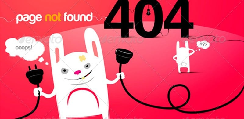 10 Cute 404 Pages