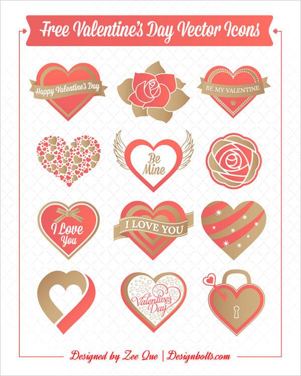 free valentine's day vectors - premiumcoding, Ideas