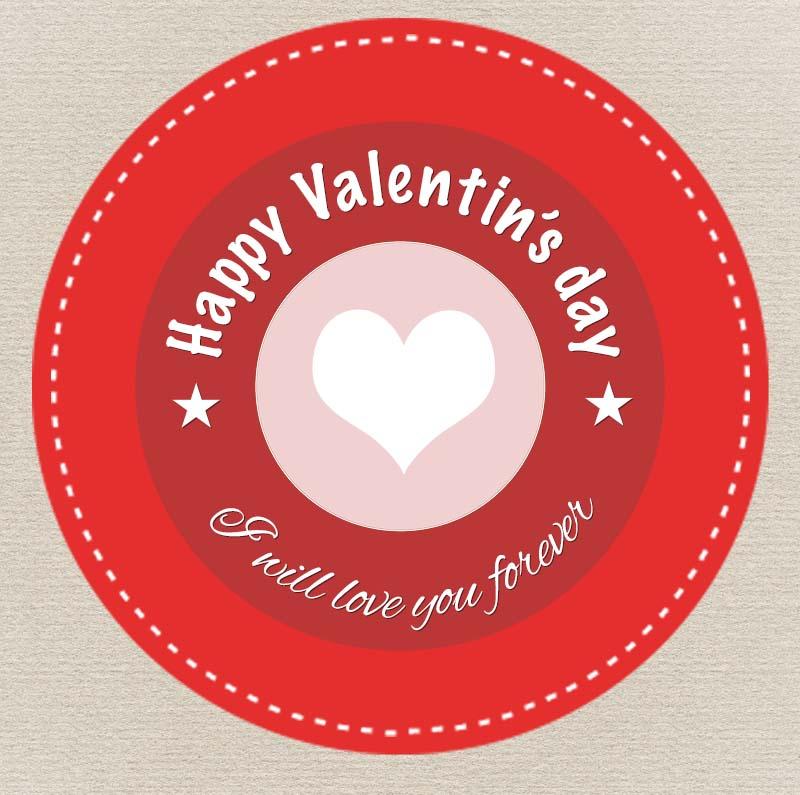 valentine's badge-prew