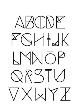 how to write a flashback fonts