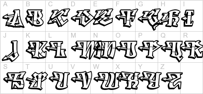 This Is A Typeface Creation Of Ray Larabie That Comes With Unique And Wacky Inspired Graffiti Font In Artistic Form