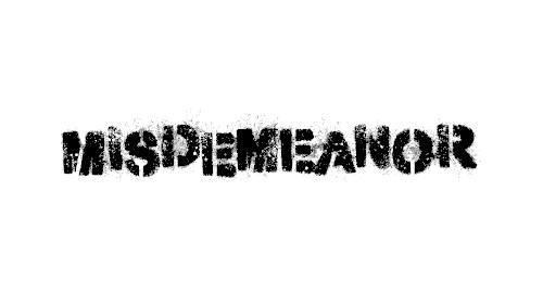 Misdemeanour free font