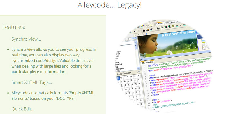Alleycode