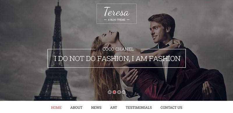 Teresa - A Free PSD Template