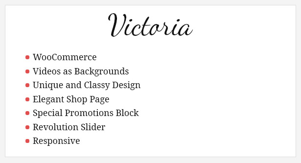 Фото Шаблон Wordpress платный  Victoria - Fashion WooCommerce Wordpress Theme — 01 victoria fashion wordpress ecommerce theme