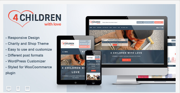 Charity Themes For Events Charity Wordpress Theme No.2