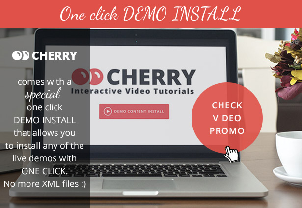CHERRY-presentation-demo-install