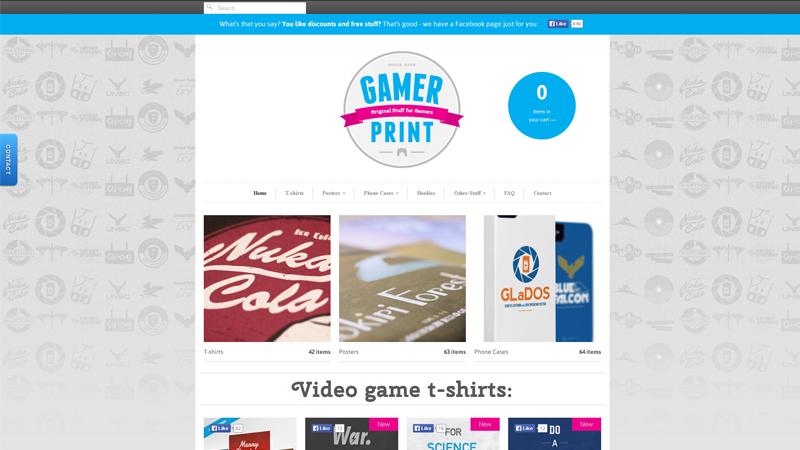 Gamer Print