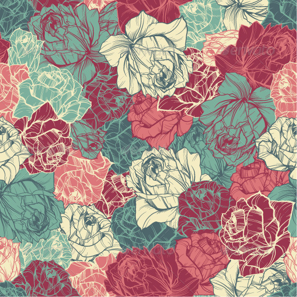 10 Beautiful Premium Seamless Floral Patterns Premiumcoding