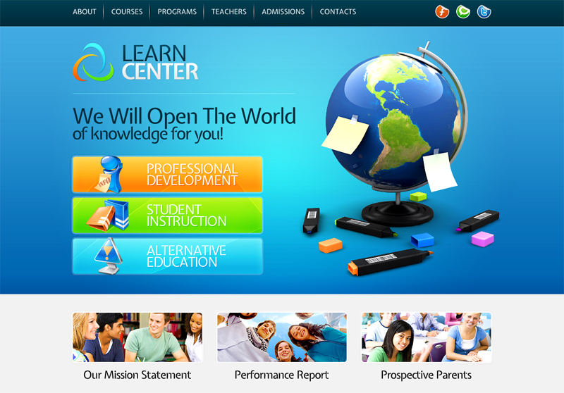 top 10 useful web design tricks and free templates for educational websites