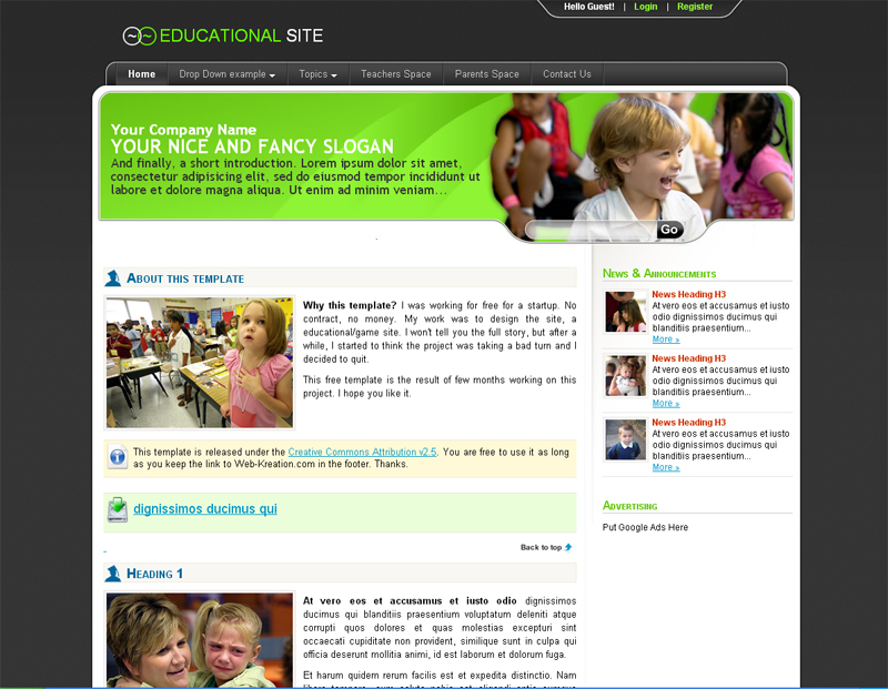 educational-site-free-css-template