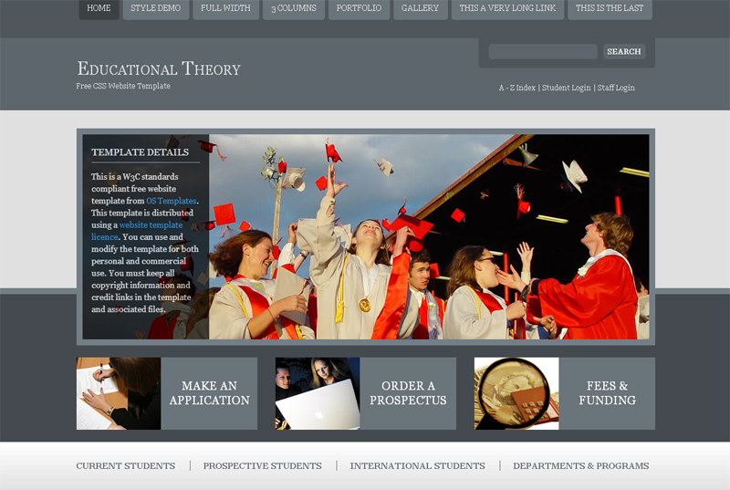 educational-theory-free-website-template