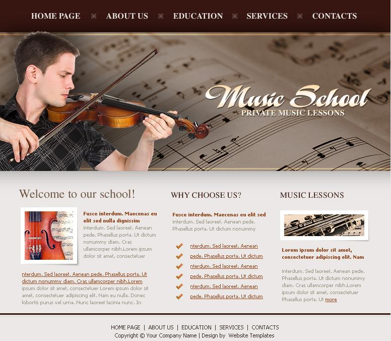 music-school-free-css-template