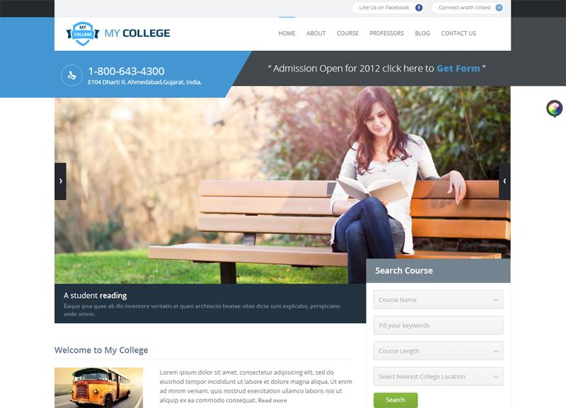 Web Design topten university