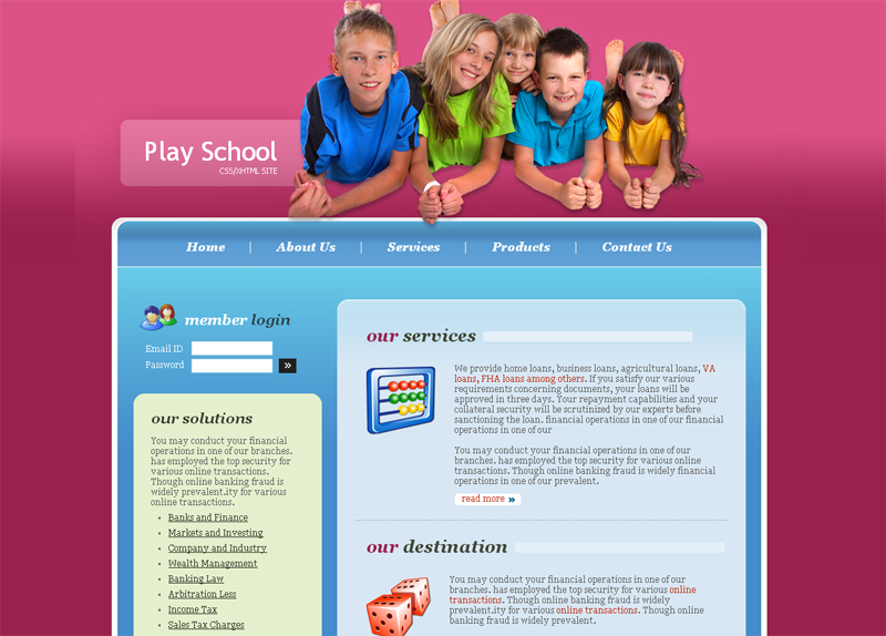 play-school-free=css-template