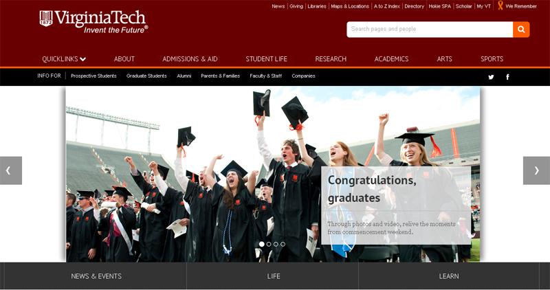 virginiatech-educational-site