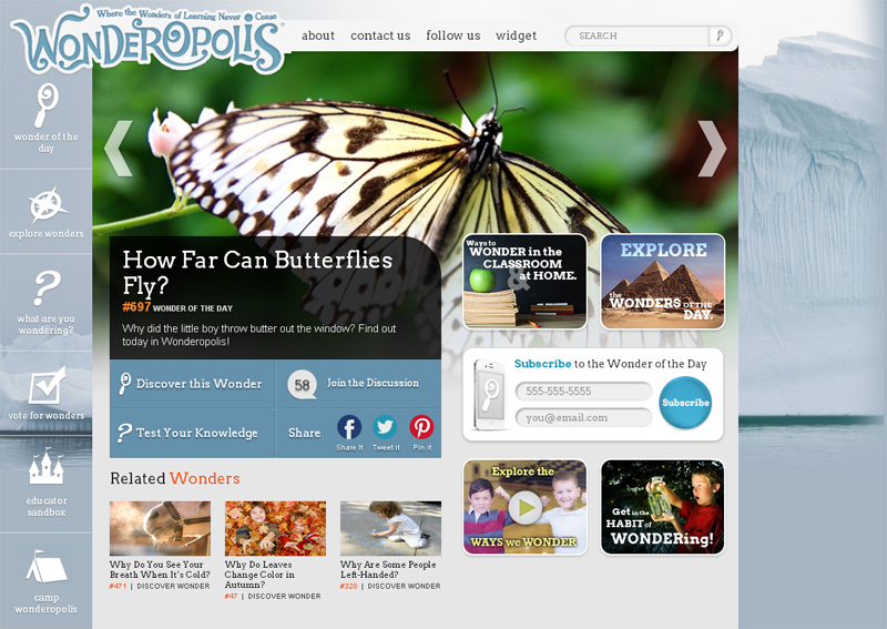 wonderopolis-educational-site