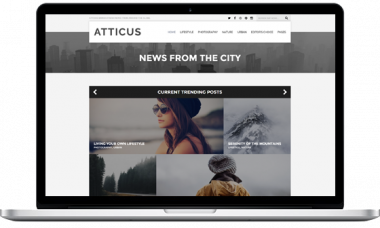 Atticus WordPress Theme