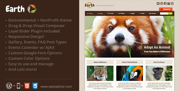 environmental wordpress themes9