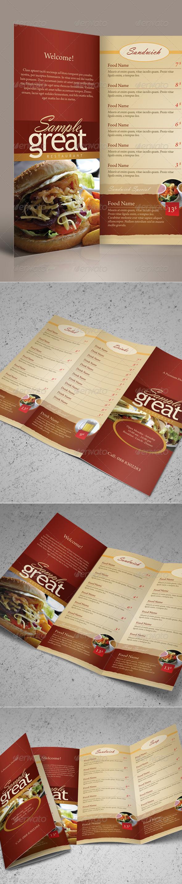 menu-template4
