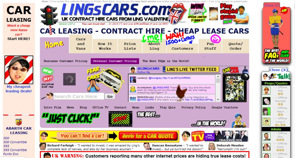 1. Lings's Cars