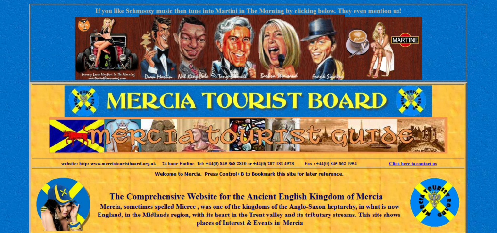 4. Mercia Tourist Board