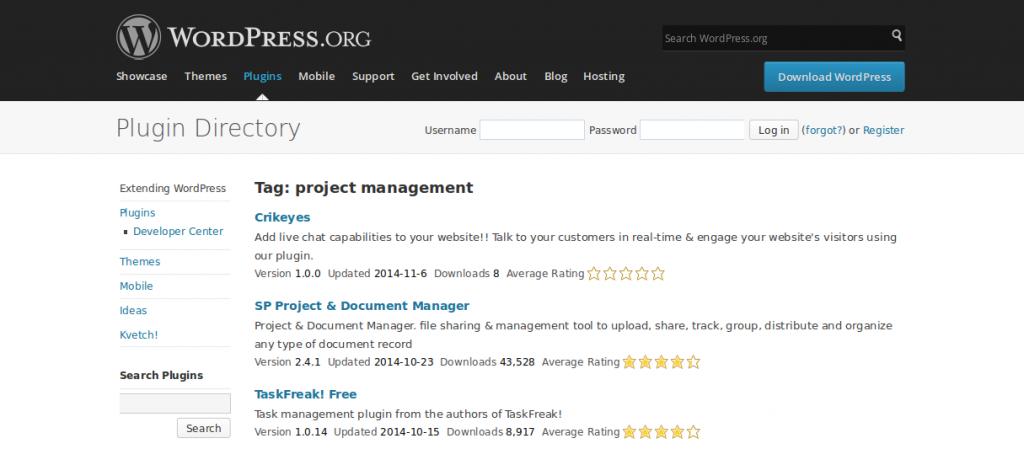 WordPress › project management « Tags « WordPress Plugins