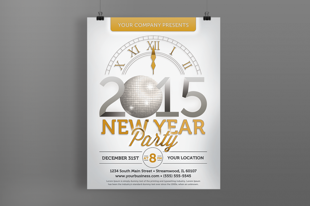 10 Best New Year flyers for 2015 - PremiumCoding