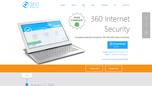 Qihoo 360 Internet Security 4.3