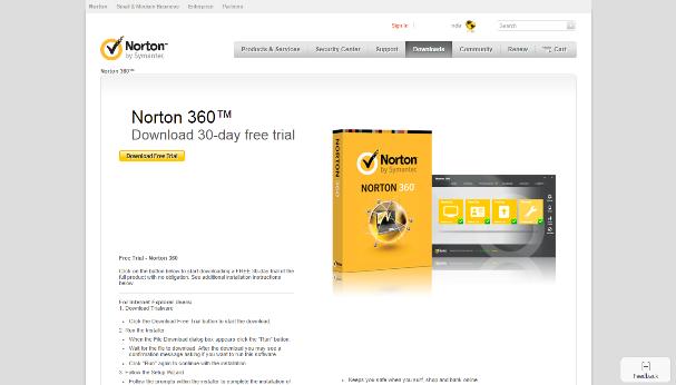 Symantec Norton 360 2014