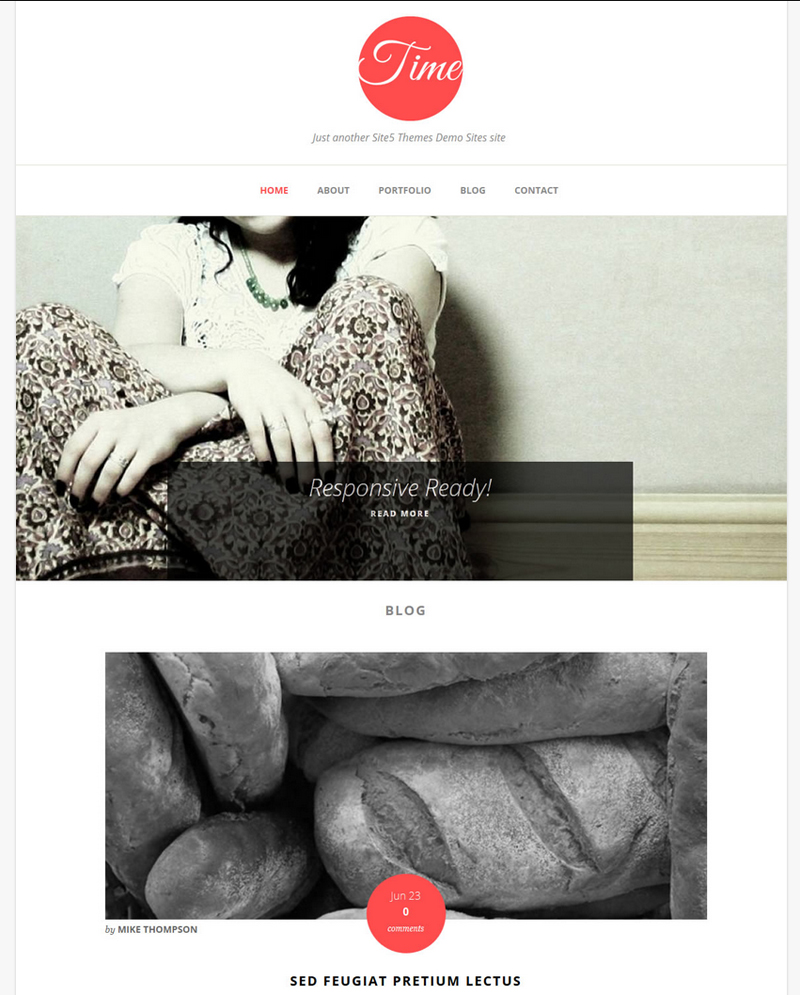 A Responsive Theme for Personal Blogs