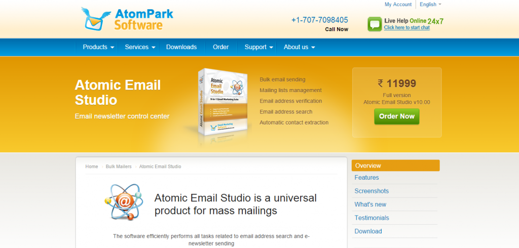 Atomic Email Studio